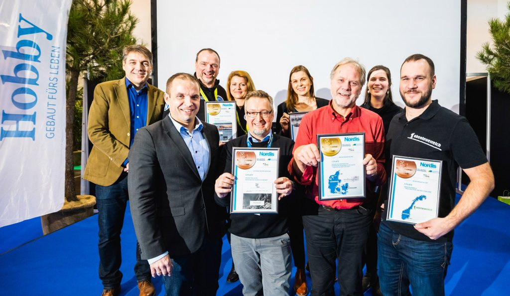 Gewinner des Scandinavian Travelawards 2019